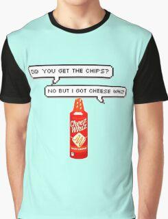 Cheese Whiz Graphic T-Shirt