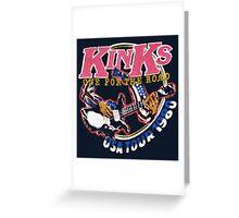 KINKS 2 Greeting Card
