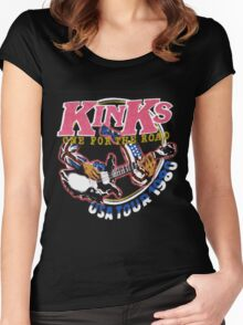 KINKS 2 Women's Fitted Scoop T-Shirt