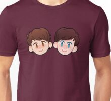 Disembodied Heads Dan and Phil Unisex T-Shirt