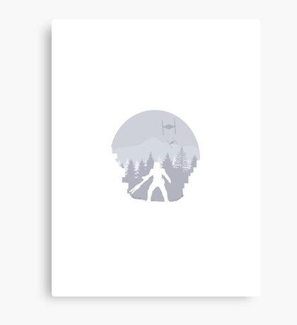 Minimal Star Wars  Canvas Print