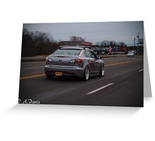 2010 Mazda 3 Greeting Card