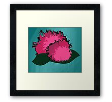 Floral Two Framed Print