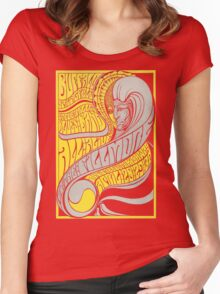 Fillmore: BUFFALO SPRINGFIELD Women's Fitted Scoop T-Shirt