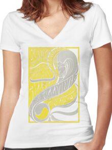 Fillmore: BUFFALO SPRINGFIELD Women's Fitted V-Neck T-Shirt