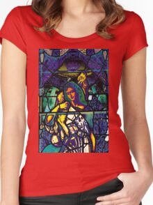 Lamby Goodness Women's Fitted Scoop T-Shirt