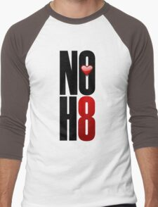 NOH8! Men's Baseball ¾ T-Shirt