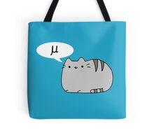 Mu (Mew) Cat Tote Bag