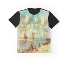 On The Water Front Graphic T-Shirt
