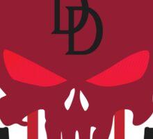 Devil Punisher Sticker