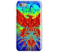 Vibrant Celtic Phoenix iPhone Case/Skin
