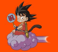 Kid Goku RC Kids Tee