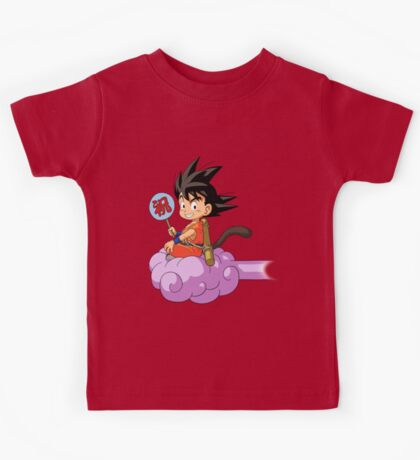 Kid Goku RC Kids Tee