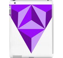 Purple Triangle iPad Case/Skin