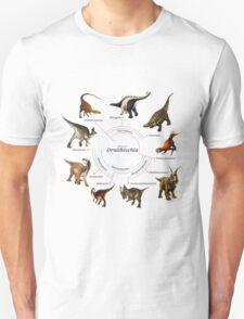 Ornithischia: The Cladogram T-Shirt