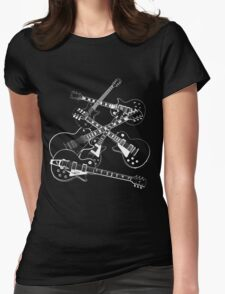 guitars guitars guitars Womens Fitted T-Shirt
