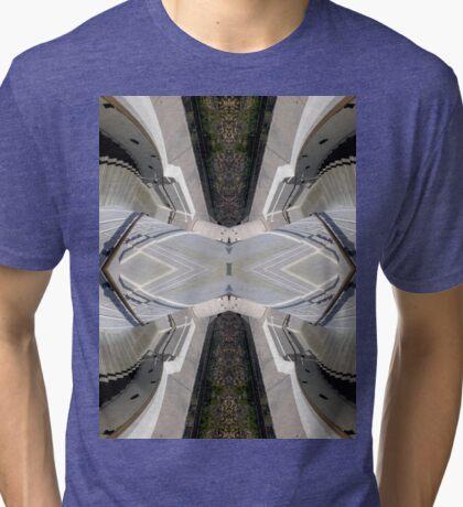 impossible starecase Tri-blend T-Shirt