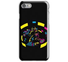 Daft Punk CMYK iPhone Case/Skin
