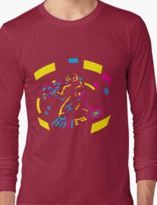 Daft Punk CMYK Long Sleeve T-Shirt