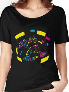 Daft Punk CMYK Women's Relaxed Fit T-Shirt