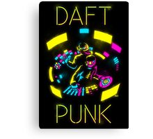 Daft Punk CMYK Canvas Print
