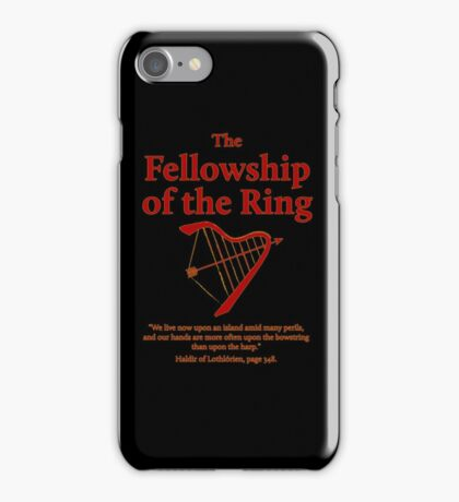 The Fellowship of The Ring iPhone Case/Skin