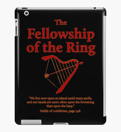 The Fellowship of The Ring iPad Case/Skin