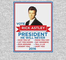 Vote Rick Astley for President! Unisex T-Shirt