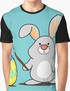 Easter Bunny Art Graphic T-Shirt