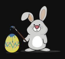 Easter Bunny Art Kids Tee