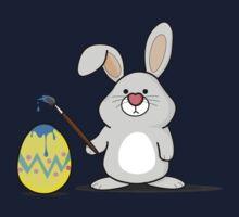 Easter Bunny Art Baby Tee