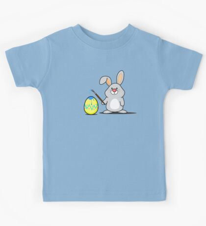 Easter Bunny Art Kids Tee