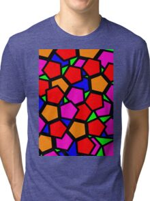 Hexagons Gone Wild Tri-blend T-Shirt