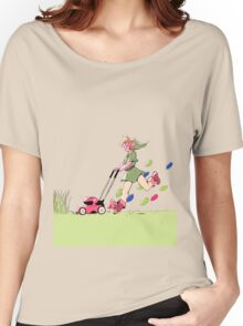 Link's Lawn mowing Service Women's Relaxed Fit T-Shirt