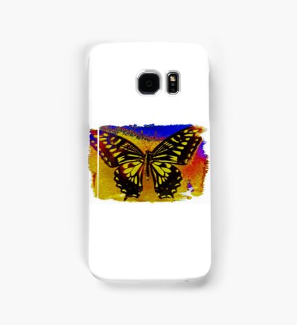"""""""psychedelic butterfly""""  Samsung Galaxy Case/Skin"""