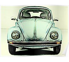 Baby Blue Bug Poster