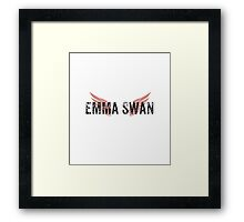 Emma Swan- Wings Framed Print