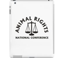 ANIMAL RIGHTS iPad Case/Skin