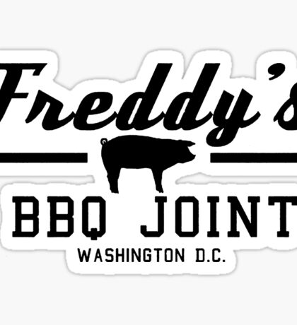 Freddy's BBQ Sticker
