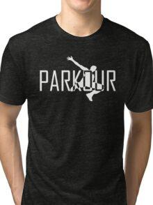 Parkour Logo Tri-blend T-Shirt