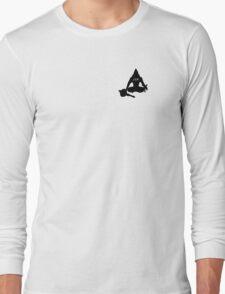 Meditating Hanuman - JSR Long Sleeve T-Shirt