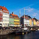 Nyhaven - Copenhagen by Paul Davis
