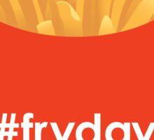 #fryday Sticker