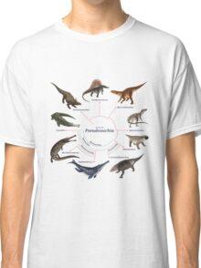 Pseudosuchia: The Cladogram Classic T-Shirt