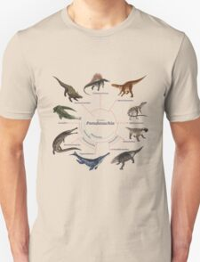 Pseudosuchia: The Cladogram Unisex T-Shirt