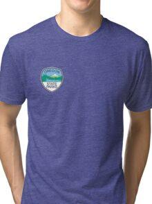 Oregon State Parks Badge Tri-blend T-Shirt