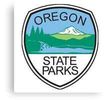 Oregon State Parks Badge Canvas Print