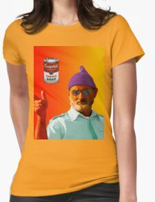Billy the Sea Capt. and this Tomato Soup Womens Fitted T-Shirt