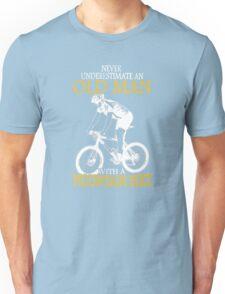 Never Underestimate an old man Unisex T-Shirt