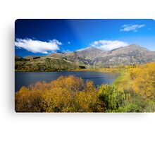 Lake Hayes Metal Print